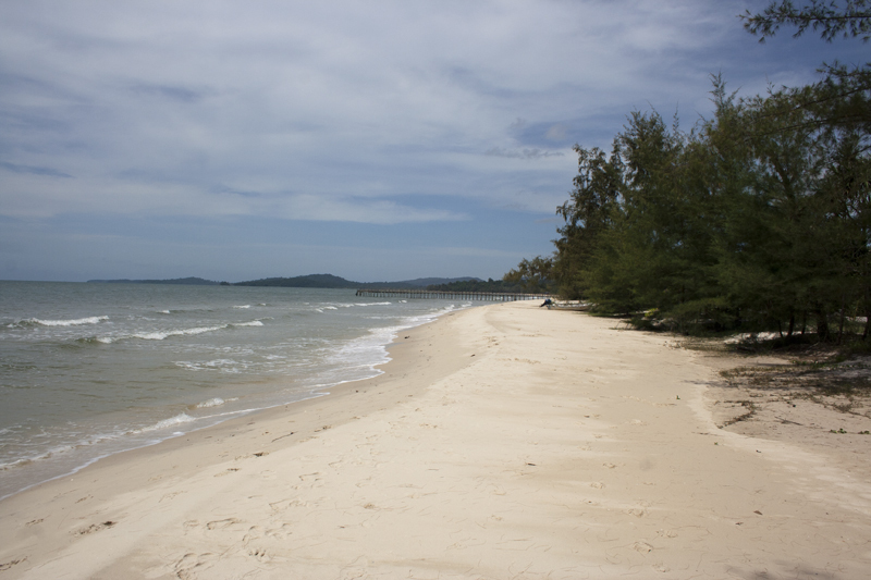 Ream Beach, Cambogia, situata nel Ream National Park