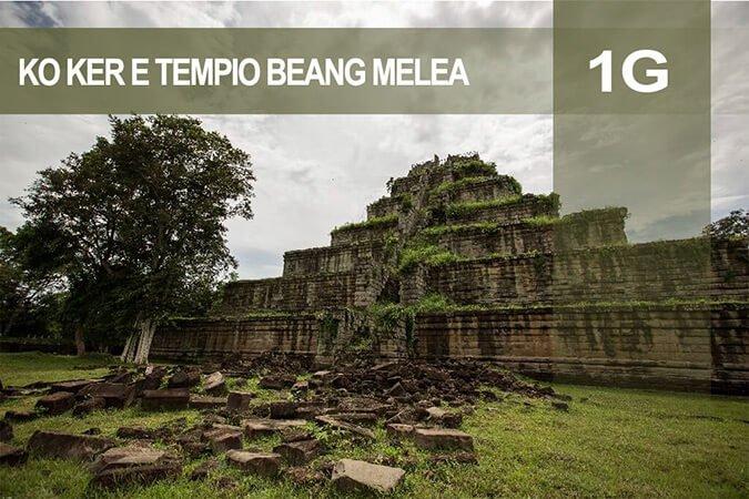 Tour 1G Ko Ker e tempio Beang Melea