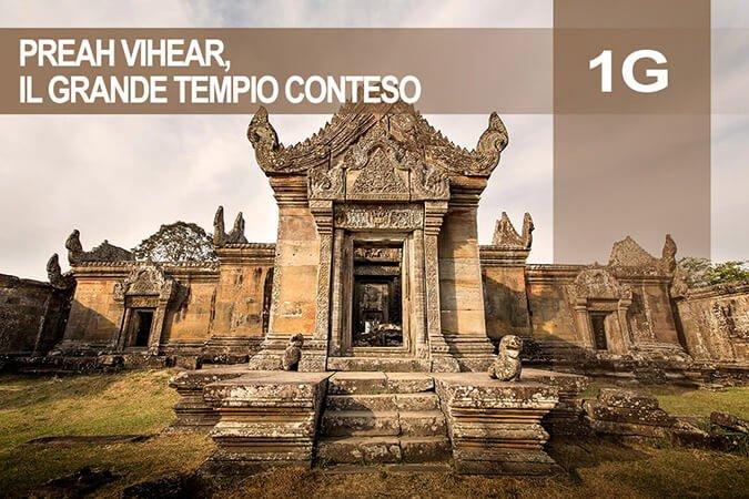 Tour 1G Preah Vihear, il grande tempio conteso