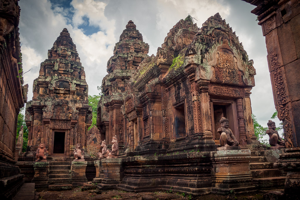 Tempio Banteay Srei, Siem Reap, Cambogia