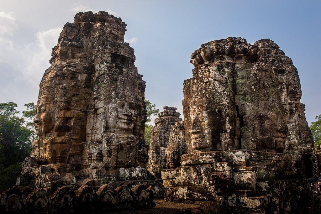 Tempio Bayon, Siem Reap, Cambogia