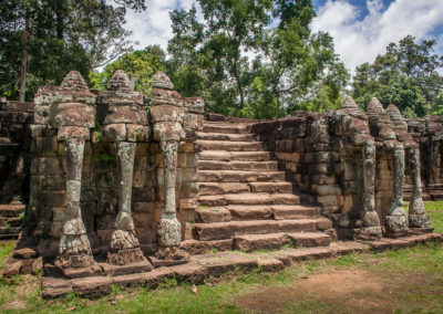 Terrazza Elefanti, Siem Reap, Cambogia