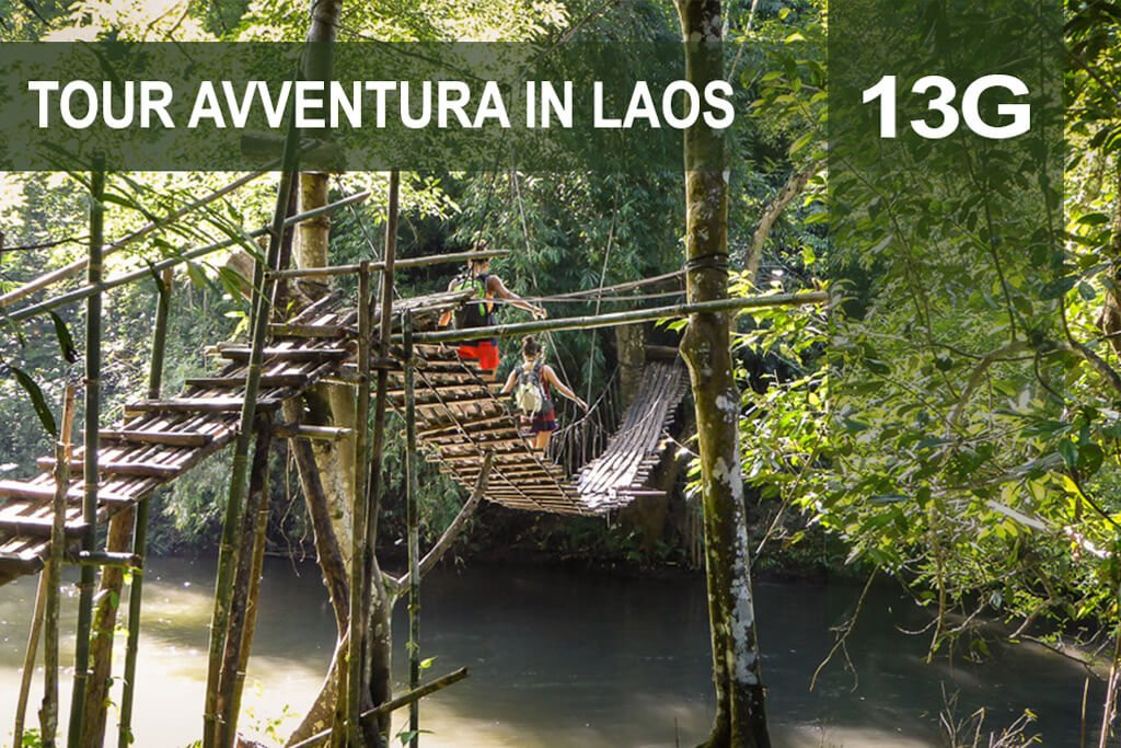 Tour avventura in Laos