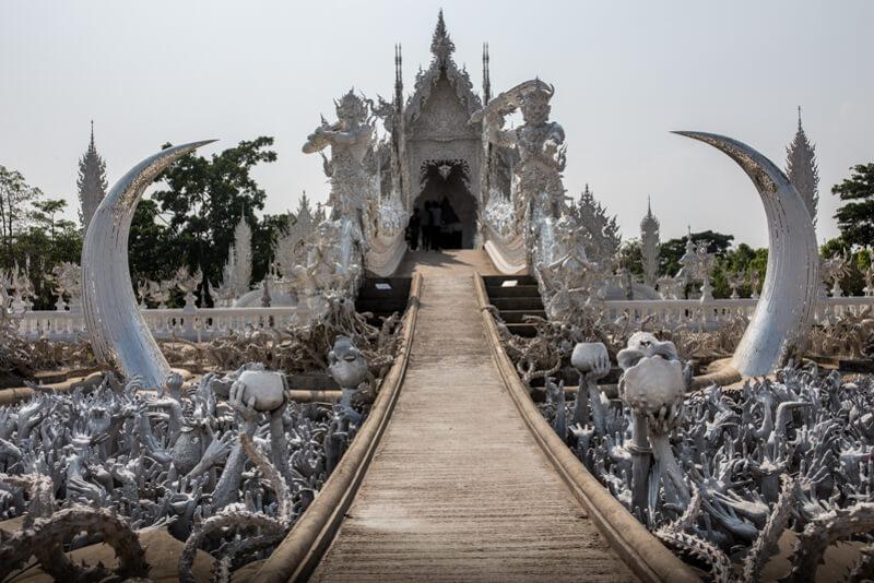 Chiang Rai, il tempio bianco