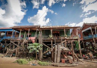 Villaggio galleggiante Kompong Kleang, Siem Reap