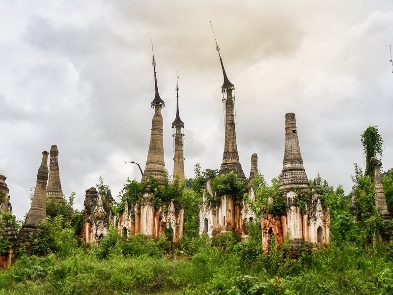 Indei Pagoda Complex © Gabriele Stoia - In Asia Travel