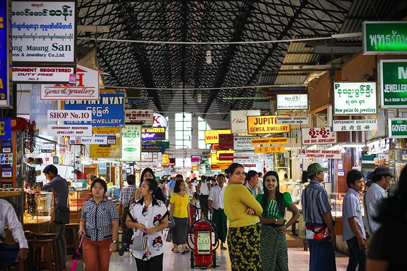 Bogyoke Aung San Market