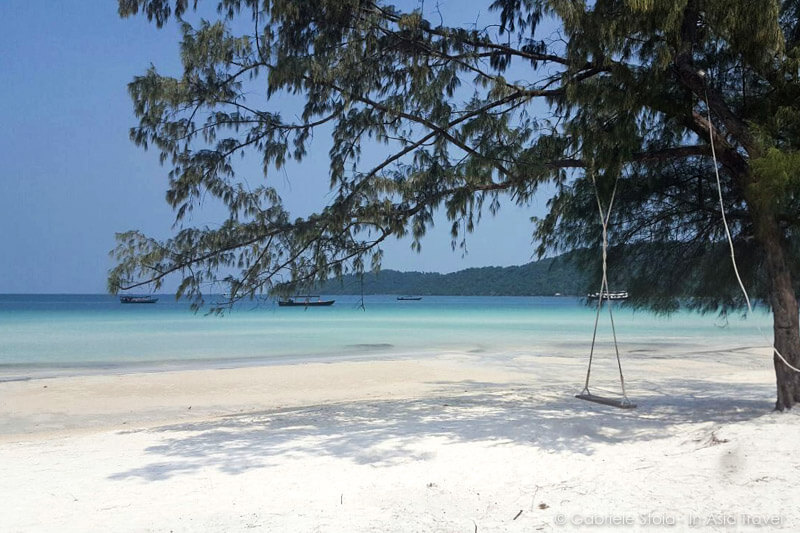Saracen bay, spiaggia dell'isola di Koh Rong Samloem (Cambogia)