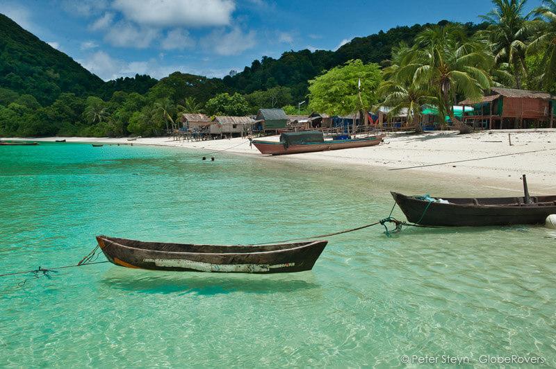 Wa Ale Beach, isole Mergui: è una delle più belle spiagge del sud est asiatico