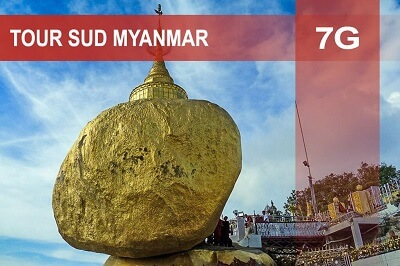 Tour sud Myanmar