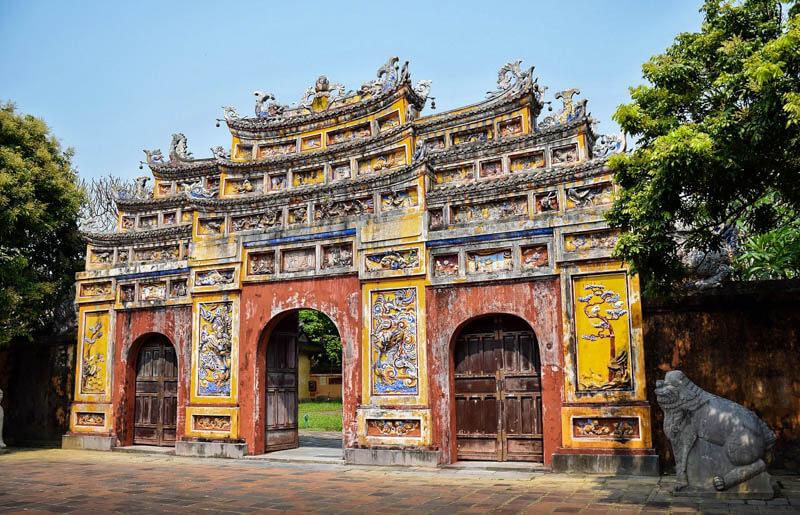 Huè, la pagoda The Mieu