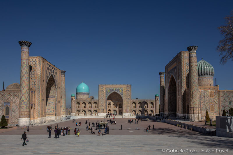 Registan Samarqand © Gabriele Stoia