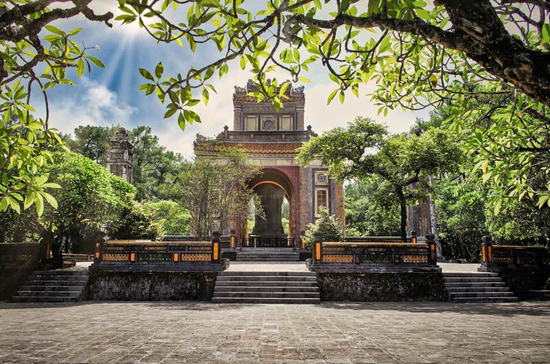 Huè, Tomba dell'imperatore Tu Duc