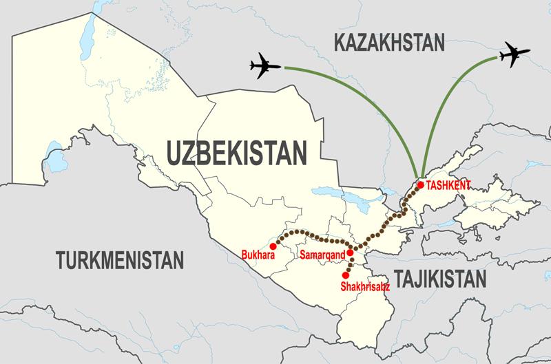 Itineraries-Tour-culturale-Uzbekistan © In Asia Travel