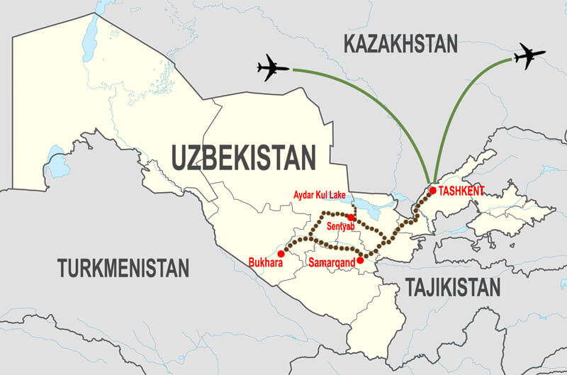 Itineraries-Tour-culturale-Uzbekistan © In Asia Travel