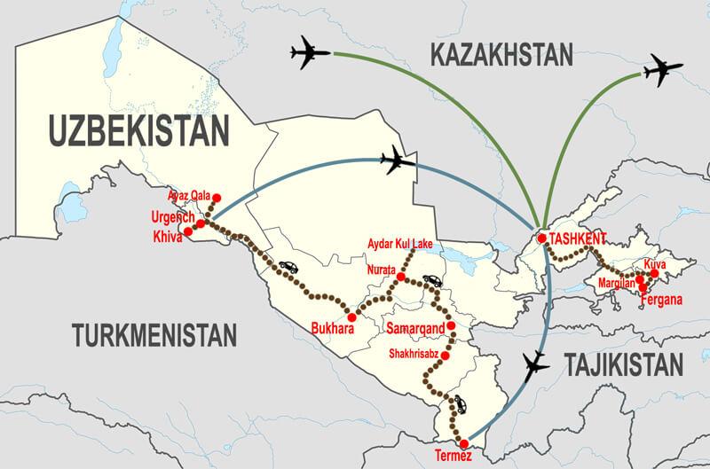 Itineraries-tour-archeologico-Uzbekistan