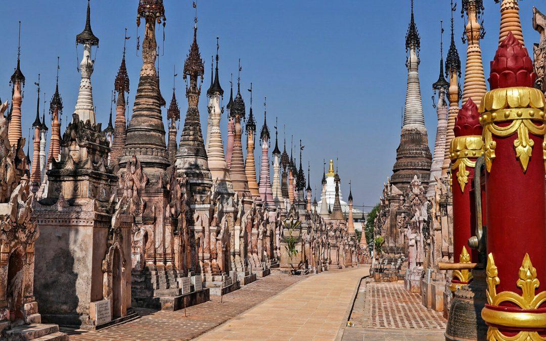 Kakku, Birmania: viaggio nel più grande complesso di pagode in Asia
