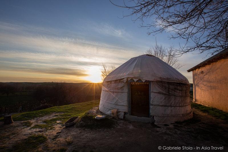 Yurta Uzbeka © Gabriele Stoia
