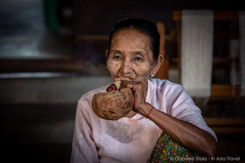 Lady at Minnanthu village © Gabriele Stoia - In Asia Travel