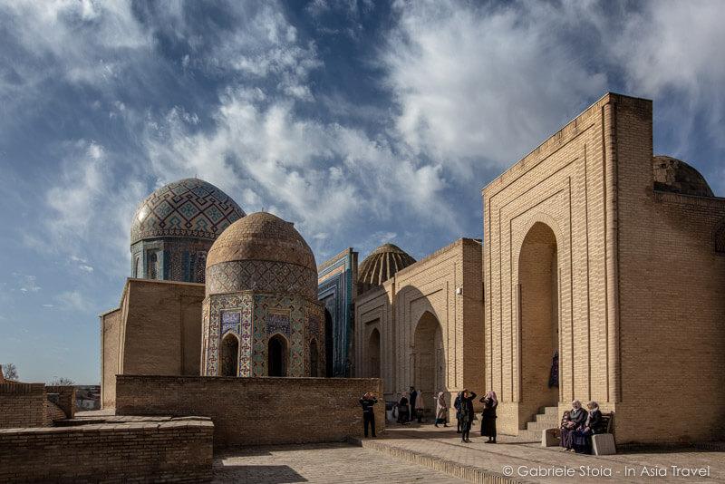 Shah-i-Zinda Necropolis - Samarqand © Gabriele Stoia
