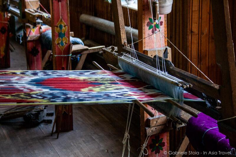 Yodgorlik Silk Factor - Margilan © Gabriele Stoia