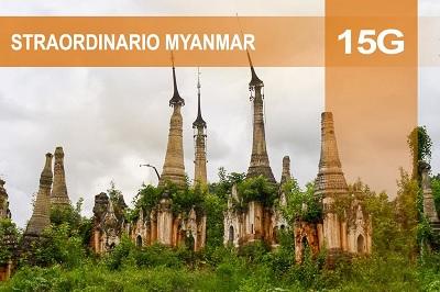 Straordinario Myanmar, tour di 15 giorni che include anche Kakku con i suoi 2400 stupa