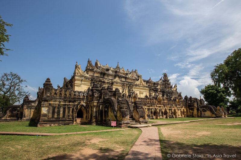 Aung Myay Bonza monastery © Gabriele Stoia - In Asia Travel
