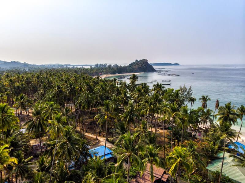 Ngapali Beach, una della più belle spiagge del sud est asiatico