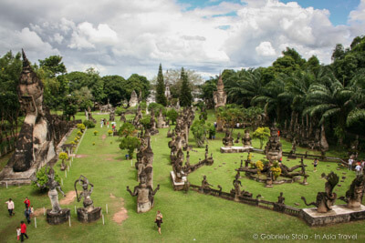 Buddha Park Vientiane - Laos - In Asia Travel