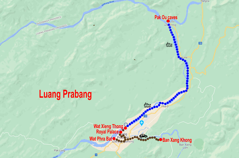 Tour Luang Prabang © In Asia Travel