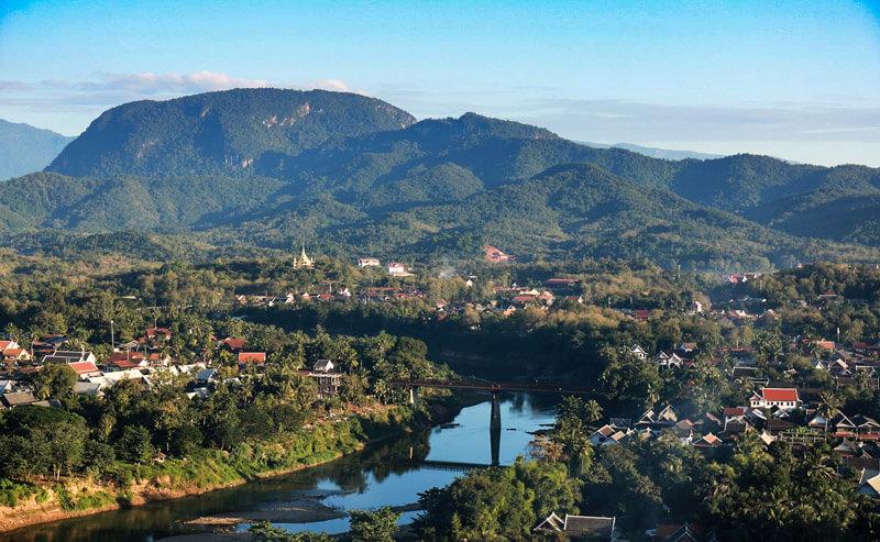 Luang Prabang view - Laos