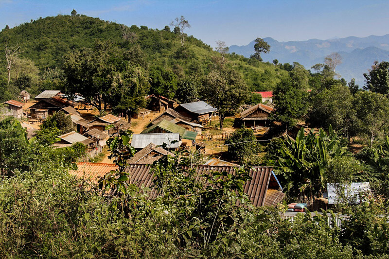 Remote-village-Laos