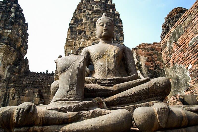 Prang Sam Yot temple - Lopburi