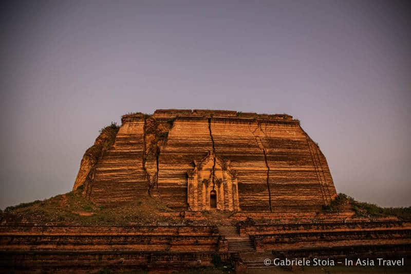 Stupa di Mingun. Tra le cose da vedere nei dintorni di Mandalay