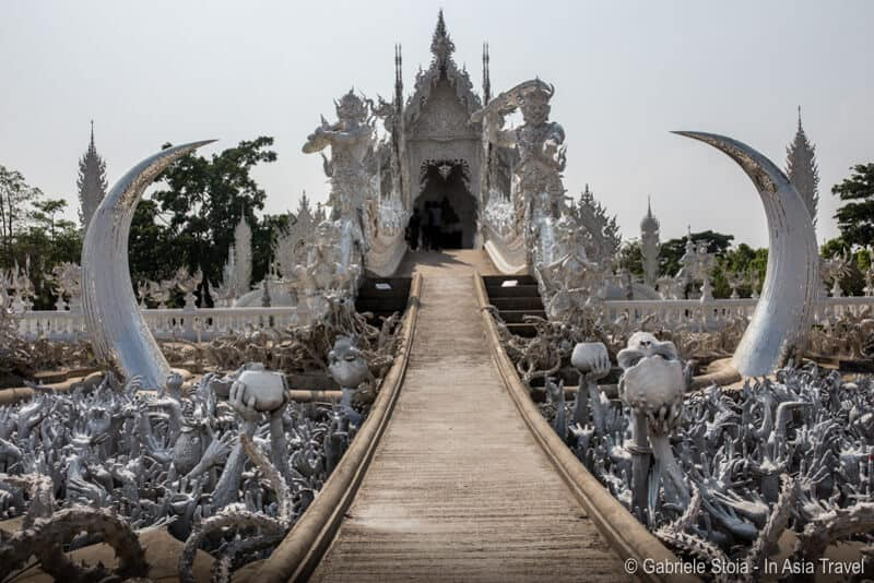 White temple - Chiang Rai © Gabriele Stoia - In Asia Travel
