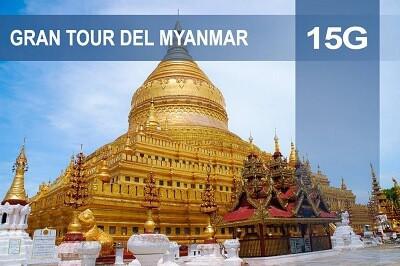 Gran tour del Myanmar. Include Mandalay tra le tappe